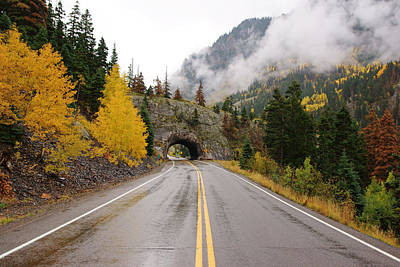 Photograph - Million Dollar Highway In Autumn by Daniel Woodrum