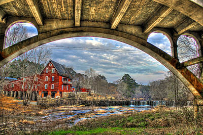 Photograph - Millmore Mill2 by Reid Callaway