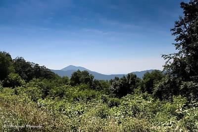 Photograph - Mills Gap Overlook Blue Ridge Parkway by Debra Forand