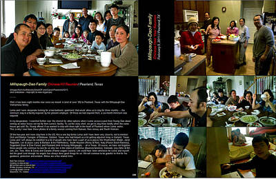 Photograph - Millspaugh-dao Family 2011 B by Glenn Bautista