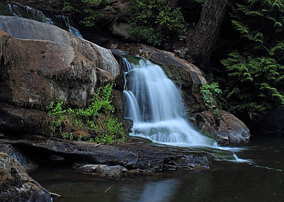 Photograph - Millstone River Falls by Randy Hall