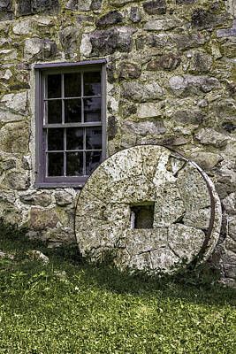 Photograph - Millstone by Sara Hudock