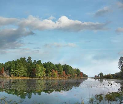 Wildwood Photograph - Millwood Lake, Millwood Lake State by Tim Fitzharris