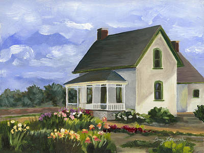 Painting - Milner House After The Flood by Amy Lewark