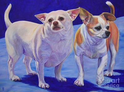 Painting - Milo And Sophie Part Two by Lesley McVicar