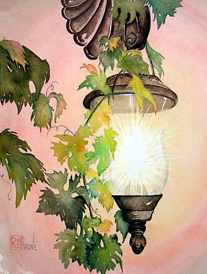 Painting - Milo's Lantern by Patricia Ragone