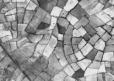 Milton Keynes, Historical Aerial Art Print by Getmapping Plc