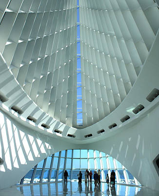 Digital Art - Milwaukee Art Museum by Geoff Strehlow