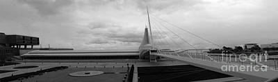 Photograph - Milwaukee Art Museum Panorama by David Bearden