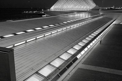 Photograph - Milwaukee Art Museum  by Susan McMenamin