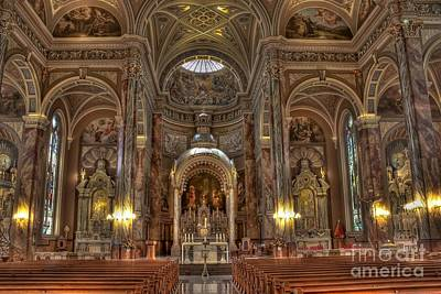 Photograph - Milwaukee Basilica by David Bearden