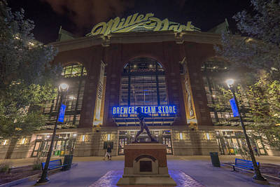 Photograph - Milwaukee Brewers Miller Park 2 by David Haskett