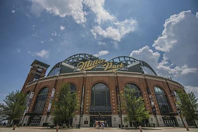 Merica Photograph - Milwaukee Brewers Miller Park 4 by David Haskett