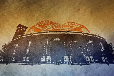 Photograph - Milwaukee Brewers Miller Park  4  Art  9291 by David Haskett