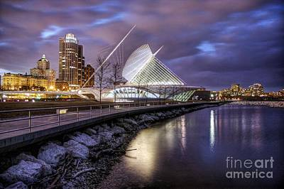 Photograph - Milwaukee Lakefront by John December