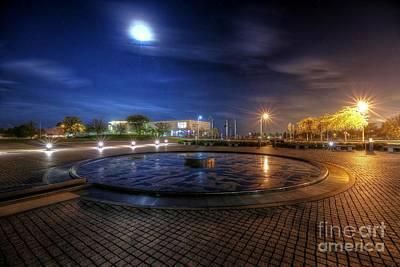 Photograph - Milwaukee Moonlight by John December