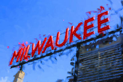 Digital Art - Milwaukee Public Market by Geoff Strehlow