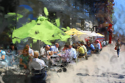 Digital Art - Milwaukee Public Market Lunch by Geoff Strehlow