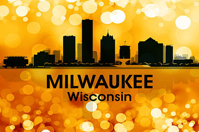 Milwaukee Wi 3 Art Print by Angelina Vick