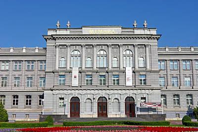 Photograph - Mimara Museum Zagreb by Borislav Marinic