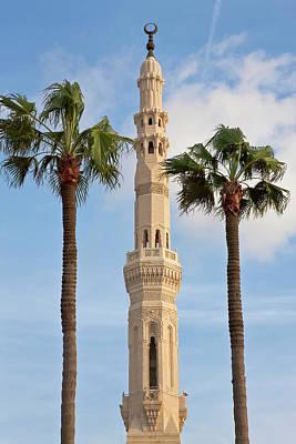 Alexandria Photograph - Minaret Of Mosque, Alexandria, Egypt by Peter Adams
