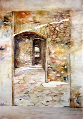 Minas De Corrales Art Print