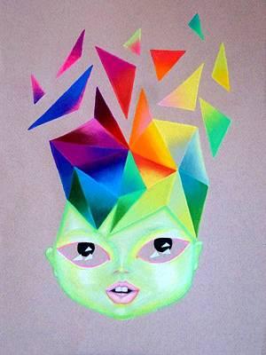 Mind Blowing Art Print