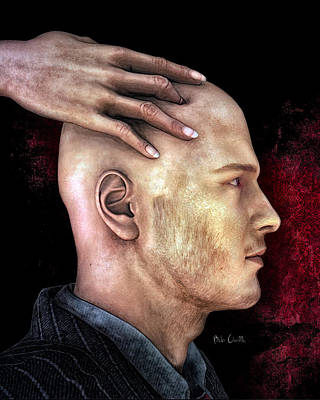 Social Relations Digital Art - Mind Control by Bob Orsillo