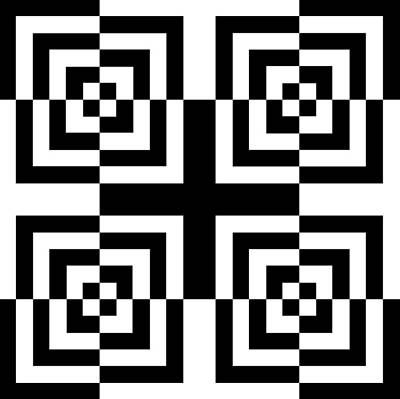 Op Art Digital Art - Mind Games 13 by Mike McGlothlen