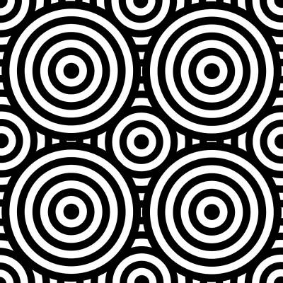 Op Art Digital Art - Mind Games 55 by Mike McGlothlen
