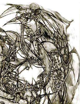 mind Games Art Print by David Walker