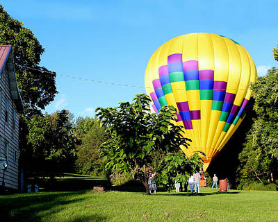 Photograph - Mind If I Land In Your Backyard 1 by George Jones
