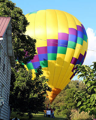 Photograph - Mind If I Land In Your Backyard 2 by George Jones