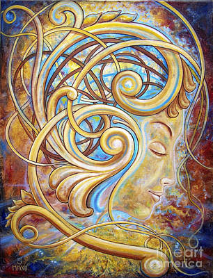 Constellations Painting - Mind Of Beauty by Sergey Malkov