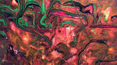 Lisa Williams Painting - Mind Over Matter by Lisa Williams
