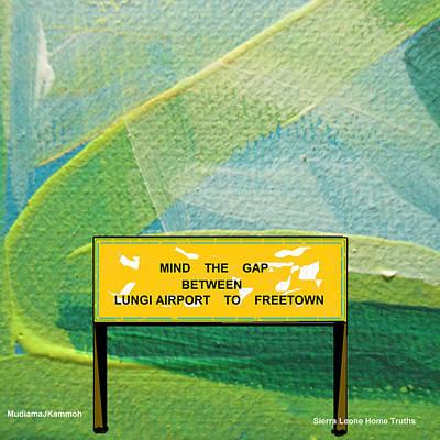 Mind The Gap Original by Mudiama Kammoh