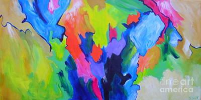 Painting - Mindbender by Sandra Yuen MacKay