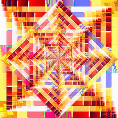 Digital Art - Mindcube by Derek Gedney