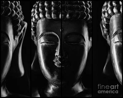 Sangha Photograph - Mindfulness by Aeon Art