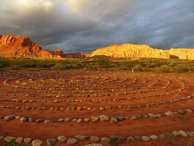 Photograph - Mindfulness In St. George Utah by Jean Marie Maggi