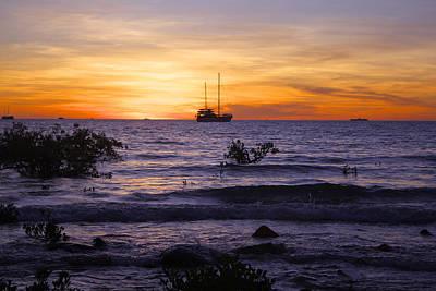 Mindil Beach Sunset Art Print by Venetia Featherstone-Witty