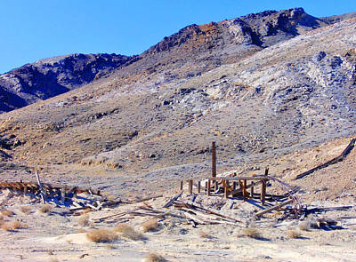 Photograph - Mine Ruins by Marilyn Diaz