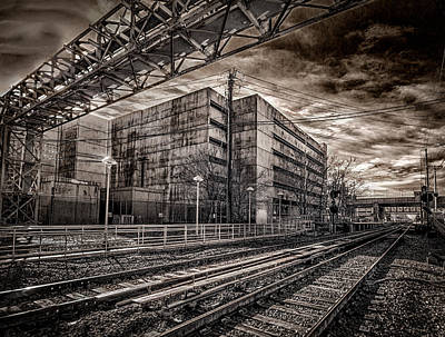 Print featuring the photograph Mineola Station by Steve Zimic