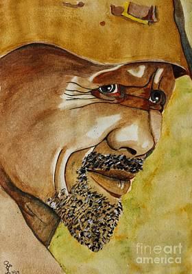 Miner Art Print by Grant Mansel-James