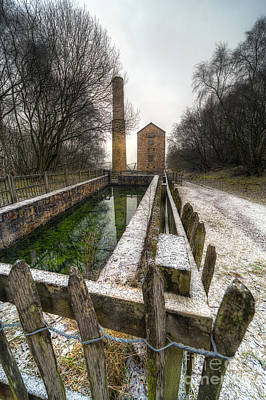 Engine House Photograph - Minera Mines by Adrian Evans