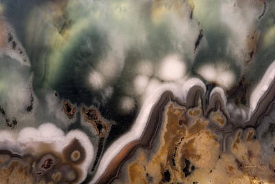 Photograph - Mineral Assemblages by Leland D Howard