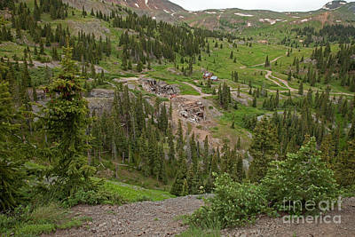 Photograph - Mineral Point On Engineer Pass Road by Fred Stearns