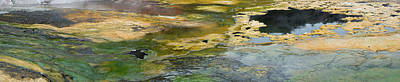 Mineral Springs At The Emerald Terrace Art Print