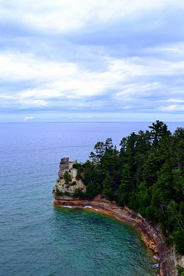 Beautiful Vistas Photograph - Miner's Castle by Michelle Calkins