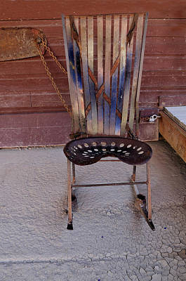 Photograph - Miner's Rocker by Fran Riley